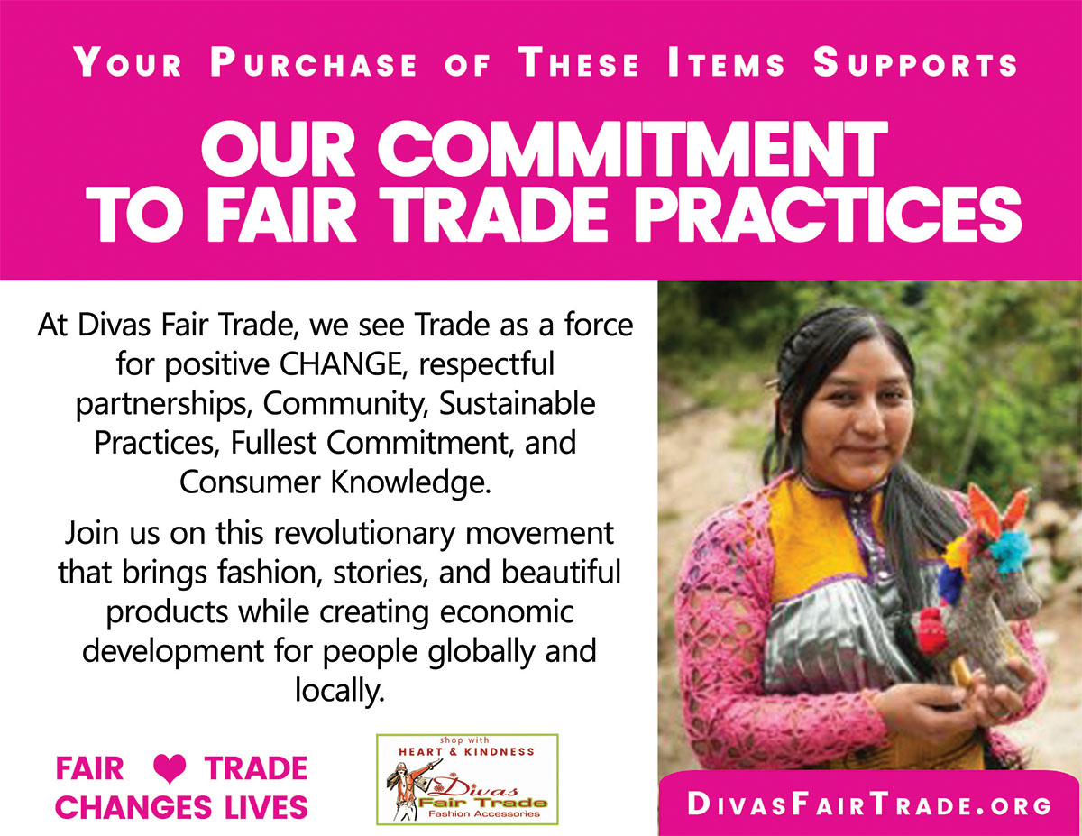 Divas Fair Trade Commitment