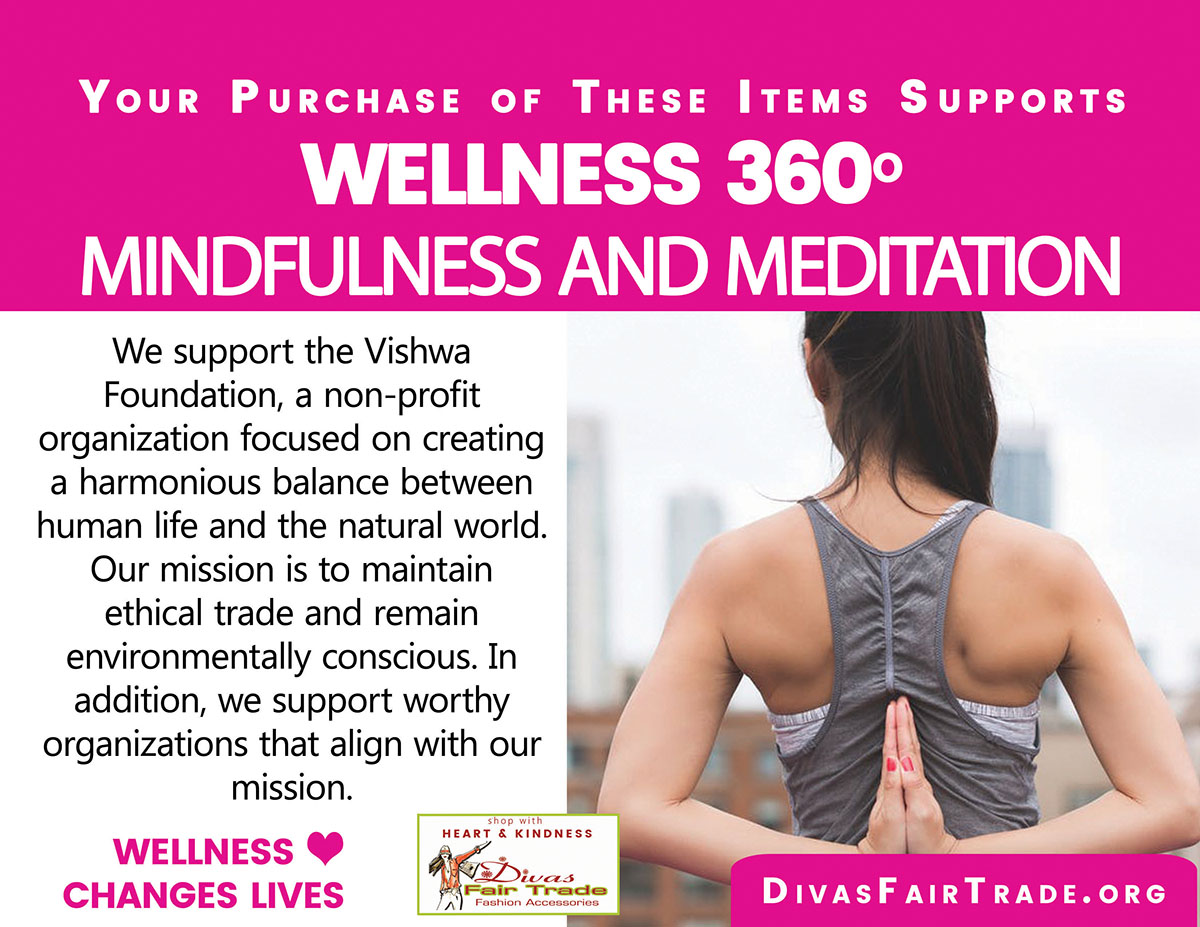 Divas Fair Trade Wellness Mindfulness Meditation